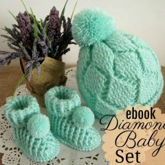 Diamonds Baby Set
