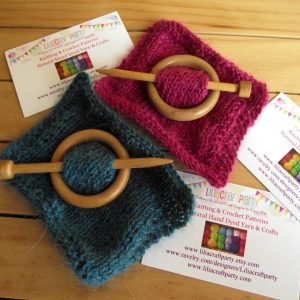 Wood Shawl Pins