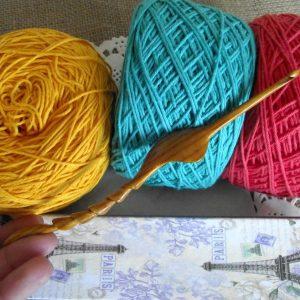 Ergonomic Crochet Hook Wood Crochet Hook Size 3mm