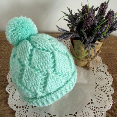 Diamonds Baby Hat