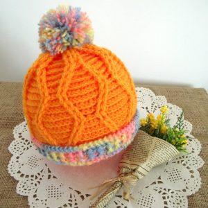 Alegria Baby Hat Crochet Pattern