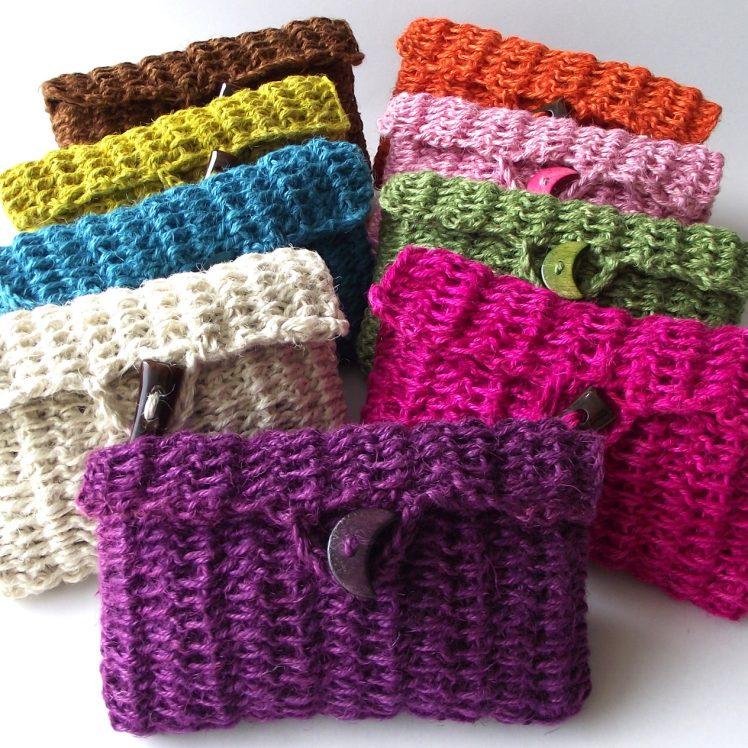 crochet bags colorful pouches bags crochet patterns