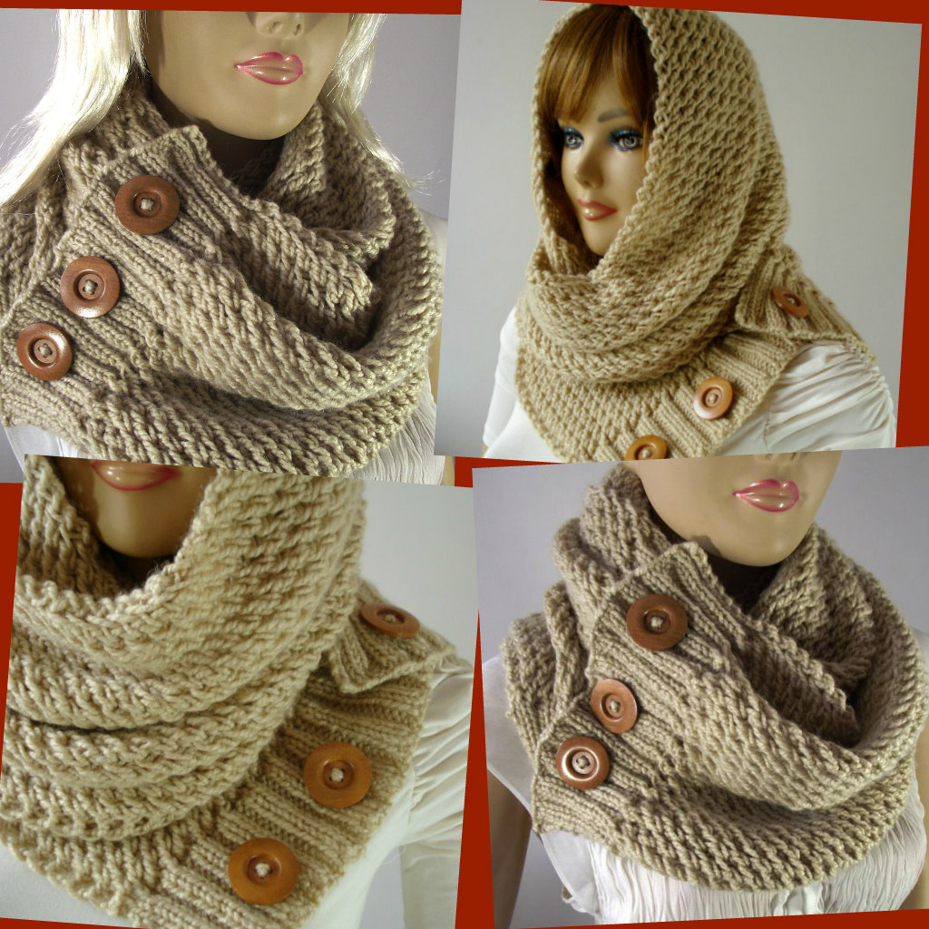 Hooded Scarf Pattern Awesome Decoration