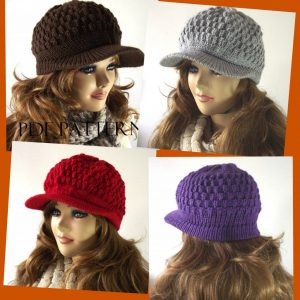 Claire Newsboy Hat