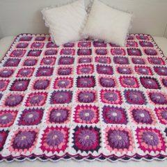 Majesty Blanket Crochet Pattern
