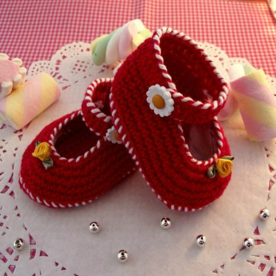 Little Lilly Shoes Crochet Pattern