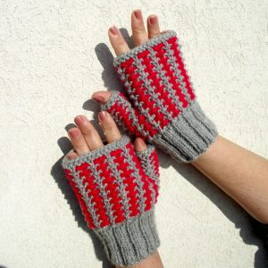 Charly Fingerless Mitts
