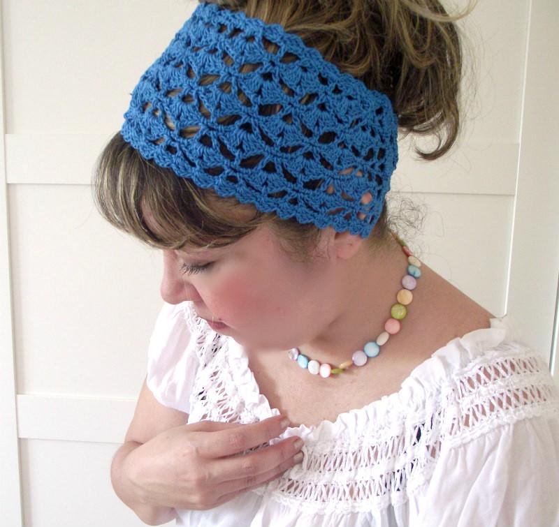 Bestseller Crochet Pattern Of Summer Christy Headband Liliacraftparty