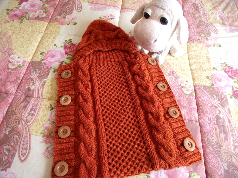 Sweet Snuggle Baby Cocoon Knitting Pattern Liliacraftparty