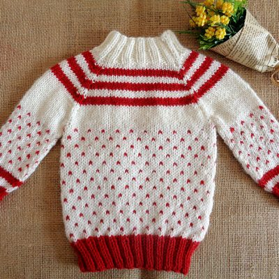 Candy Baby Sweater