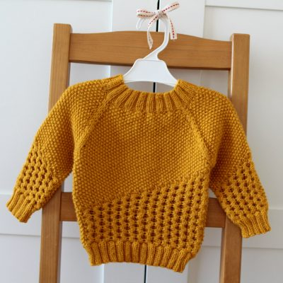 Crossing Games Baby Sweater