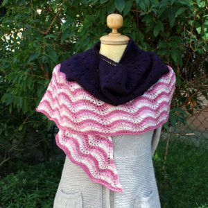 Italian Vineyard Shawl Knitting Pattern