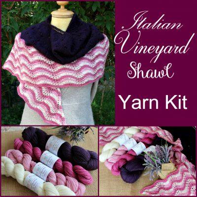 Italian Vineyard Shawl Yarn Kit