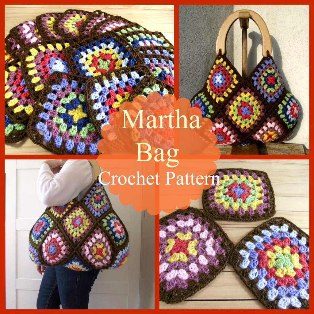 Martha Bag Crochet Pattern by Lilia Craft Party