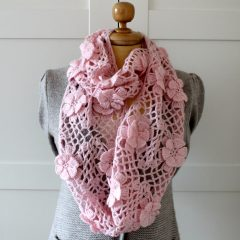 Floral Whisper Scarf