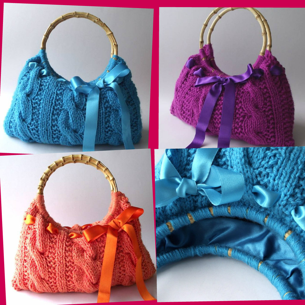 Lucia Bag Knitting Pattern – LiliaCraftParty