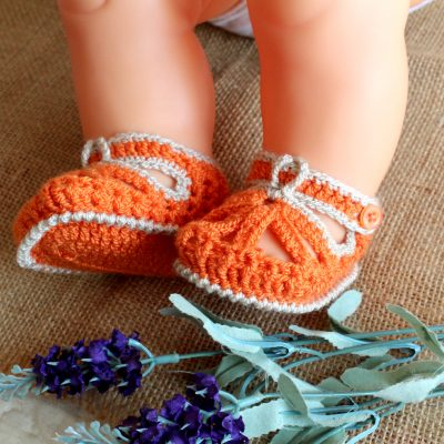 Sandalito Baby Shoes Crochet Pattern