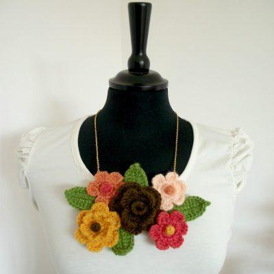 Bouquet Flower Necklace