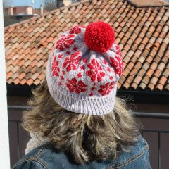 Cosmos Flowers Hat