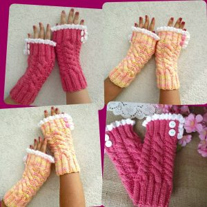Grace and Lace Fingerless Mitts
