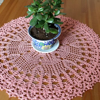 Sweet Afternoon Doily