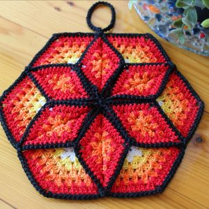 Lucky Star Pot Holder