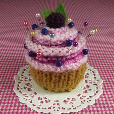Blueberry Cupcake Pincushion