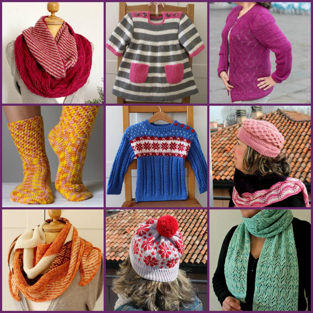 Knitting and crochet patterns by Lilia Vanini Liliacraftparty