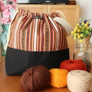 Knitting Project Bag – Andina Collection – Design #2