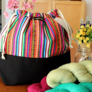 Knitting Project Bag – Andina Collection – Design #4